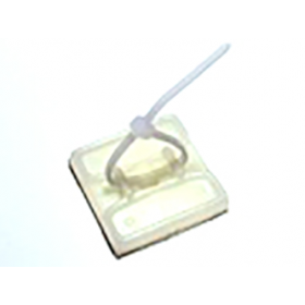 Bowdencable adhesive mounting