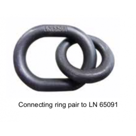 Connecting ring pair