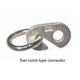 Tost notch-type connector