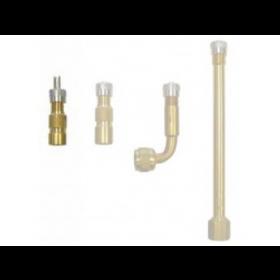 Tube valve extension